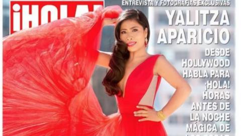 Critican a ¡Hola! México por Photoshop en portada de Yalitza Aparicio