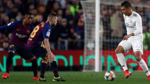 Real Madrid y Barcelona definirán al primer finalista de Copa del Rey