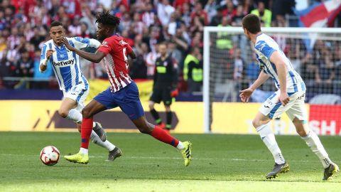 El Atlético supera en casa 1-0 al Leganés