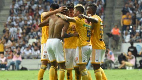 Quiñones rescata empate de Tigres 1-1 en casa del Monterrey