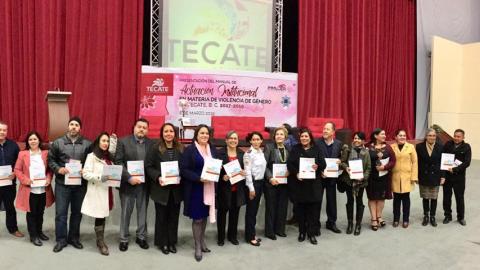 Presentan el manual de actuación institucional en materia de violencia de género