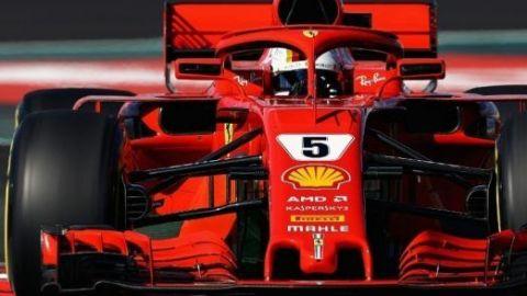 Llega el momento de que Vettel logre el éxito para Ferrari