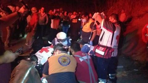 Suman 24 migrantes guatemaltecos fallecidos por accidente en Chiapas