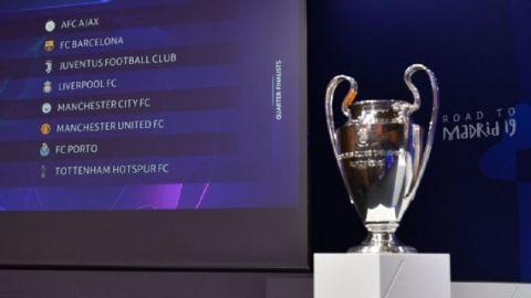 Definidos los 4tos. de final de la Champions; Juventus y Liverpool beneficiados
