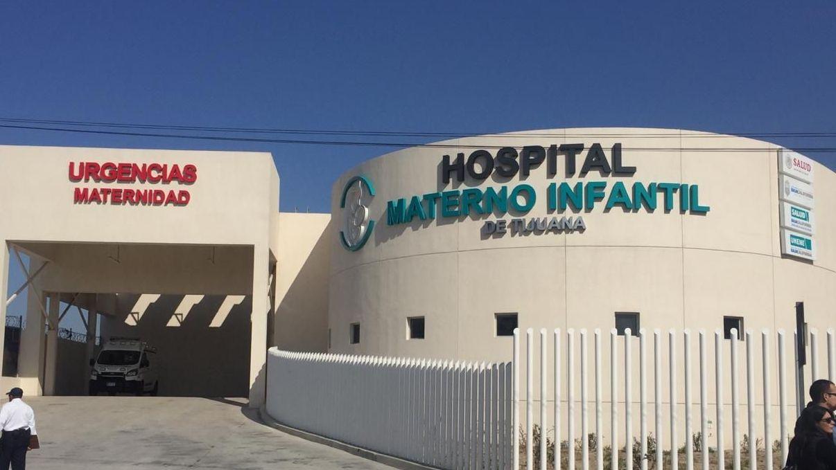d1c0ab170 Inauguran nuevo Hospital Materno Infantil de Tijuana