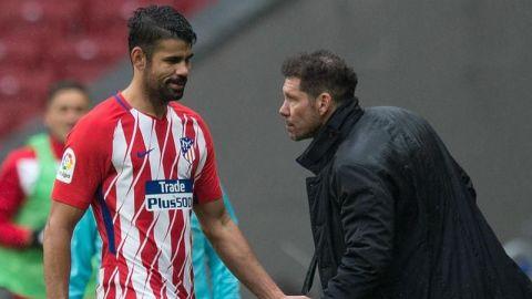 """Simeone: """"Quiero que Diego Costa se quede, confío a muerte en él"""""""
