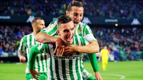 Con Guardado titular, el Betis derrota al Villarreal