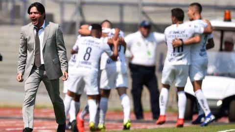 Bruno Marioni defiende su labor al frente de Pumas de la UNAM