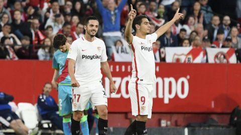 Sevilla mira a la 'Champions' y coloca al Rayo cerca del abismo