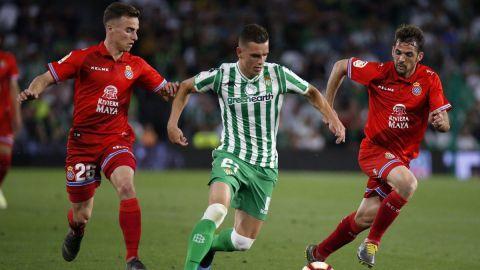 Betis y Espanyol empatan; siguen lejos de Liga Europa