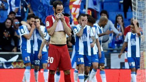 Atlético cae por goleada ante el Espanyol
