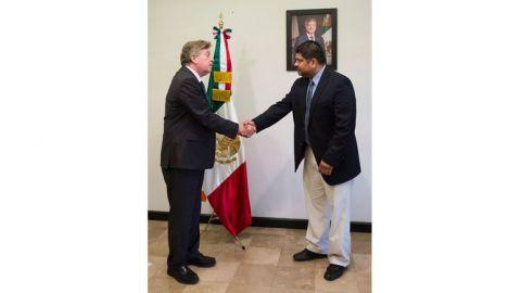 Nombran a Caleb Cienfuegos, secretario de salud en Baja California