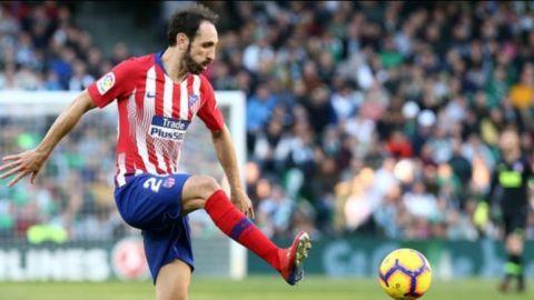 Juanfran Torres cerrará su etapa en el Atlético de Madrid