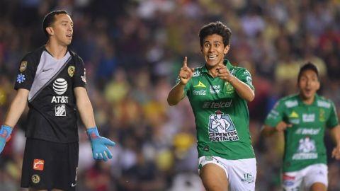 Con gol de Macías, León pega primero ante América