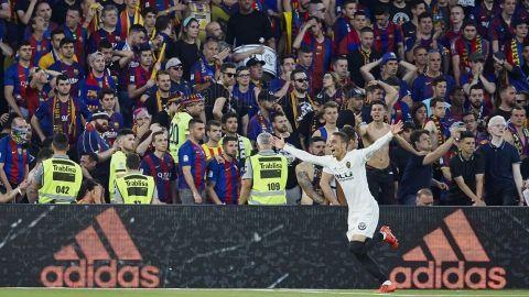 El Valencia, campeón once años después de la Copa del Rey ante Barcelona y Messi