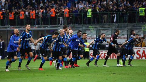Cardiaca definición en la Serie A pone al Inter en Champions