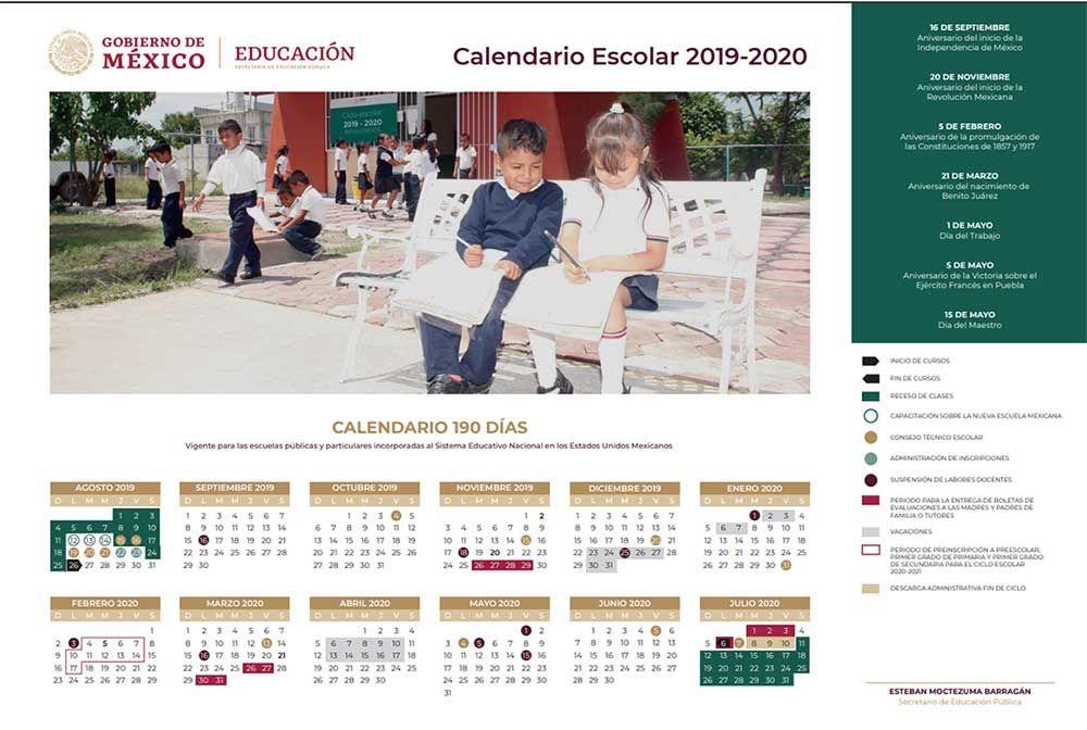 Calendario Escolar 2020 Cyl.Calendario Escolar 2019 2020 Abarca 190 Dias Efectivos De Clases