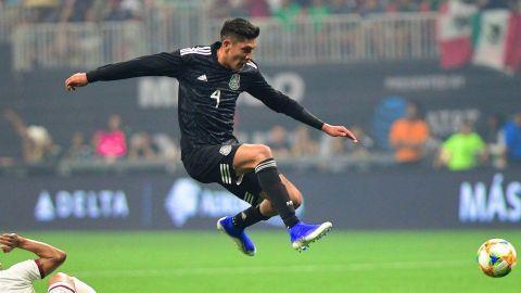 Lesión de Álvarez no es grave, sigue con México en Copa Oro