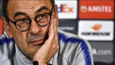 Maurizio Sarri, nuevo entrenador de la Juventus de Turín
