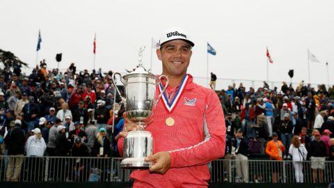 Woodland gana el US Open de golf, su primer grande en Pebble Beach