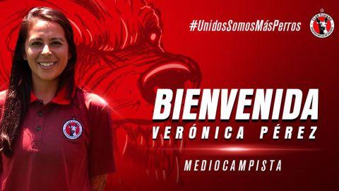 Verónica Pérez llega a Xolos Femenil