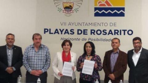 Inicia proceso entrega-recepción en Playas de Rosarito