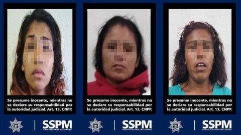 Policía Municipal asegura a mujeres con droga