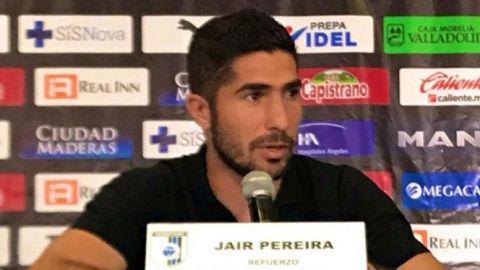 Jair Pereira quiere aportar experiencia a Gallos