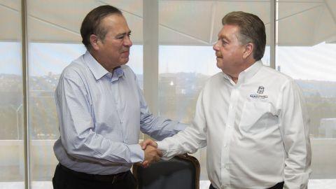 Se reúne el gobernador con el presidente municipal electo de Tijuana