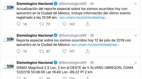"""""""Micro"""" sismos dejan sustos y memes"""