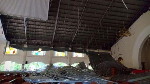 FOTOS: Un sismo de 5,8 grados causa 25 heridos leves en el sur de Filipinas