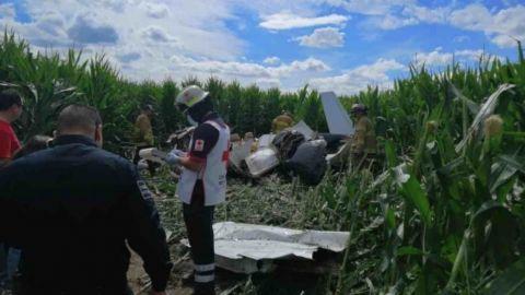 Mueren cuatro personas al desplomarse avioneta en Chihuahua