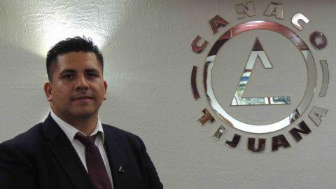 Nuevo líder de jóvenes empresarios de Canaco Tijuana