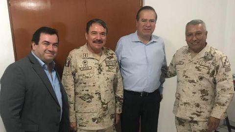 Fuerza militar es aliada para abatir la delincuencia en Tijuana: González Cruz