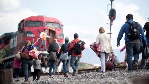 En 2 meses se redujo llegada de migrantes de 144 mil a 87 mil: Ebrard