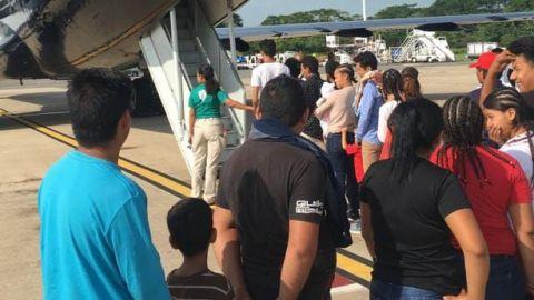 Migrantes con antecedentes penales  piden ayuda a autoridades de migración