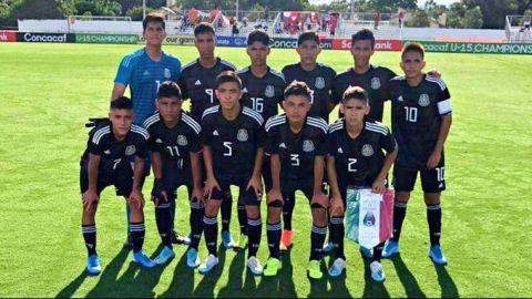 México queda eliminado del Campeonato de Concacaf Sub-15