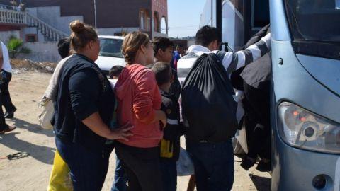 Huyen de Tijuana migrantes decepcionados