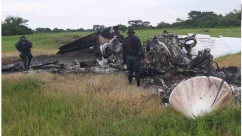 Hallan dos avionetas con droga y dos mexicanos muertos en Guatemala