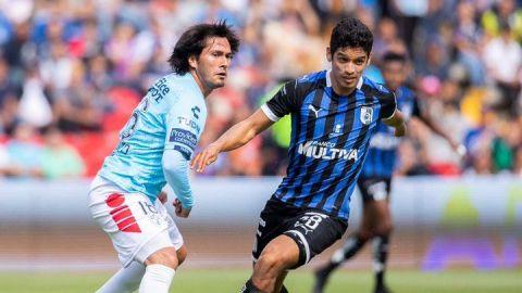 Querétaro vence al Pachuca de Palermo y lidera el Apertura mexicano