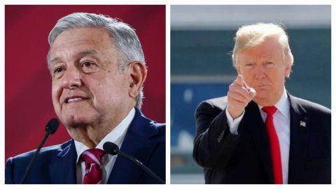 AMLO pide a Donald Trump respetar la soberanía de México