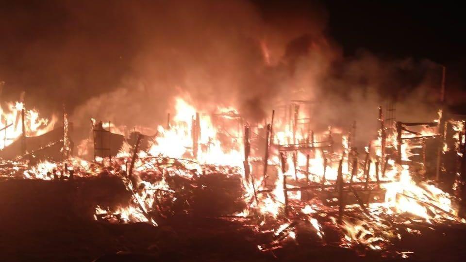 Resultado de imagen para incendio de la colonia Providencia en Tijuana