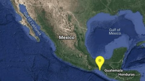 Se registra sismo de magnitud 5.5 en Tonalá, Chiapas