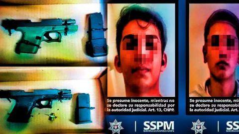 """Dos """"sicaritos"""" detenidos por presuntamente matar a un hombre"""