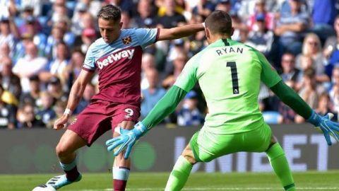 Con gol de ''Chicharito'', West Ham suma su primer punto