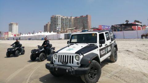 Saldo blanco por realización del Baja Fest Rosario 2019 en zona turística