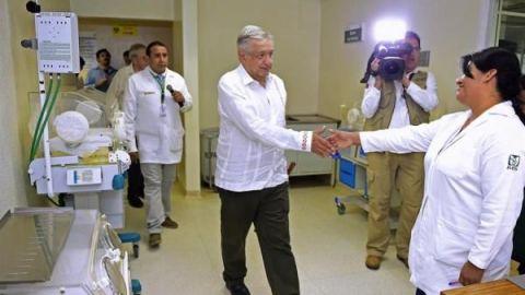 Anuncian nuevo tabulador salarial en el IMSS y 80 mil nuevas plazas
