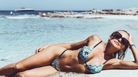 Angelique Boyer deslumbra con sus curvas en bikini