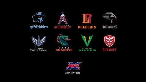 XFL revela nombres y logos de sus 8 equipos
