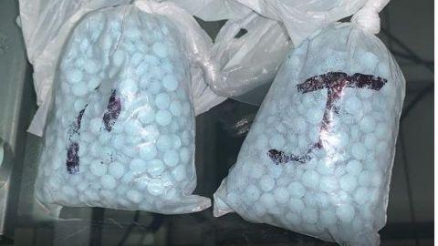 Aseguran dos mil comprimidos de fentanilo